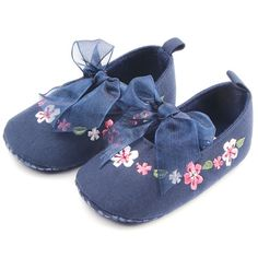 2017 Spring Summer New Style Baby Girls Toddler Shoes Kids Embroidered Cotton Fabric Shoes D8H2