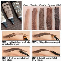 The NYX Brow Gel Everyone on Pinterest is Going Crazy For | Allure