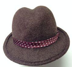 cappello in feltro da Irene Chapeaux