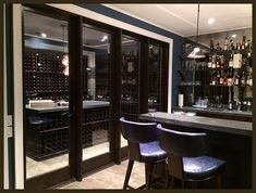 You can't have a better time than now for that wine cellar project. A basement wine cellar will be the most productive activity you can have this summer! Wine Cellar Basement, Cellar Inspiration, Wine Cellars, Canning, Diy, Furniture, Summer, Home Decor, Do It Yourself