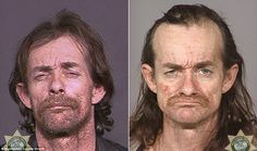 Faces of Meth Campaign | The faces of despair: Shocking images of meth addicts reveal the ...