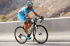 Vincenzo Niabli of Italy and the Astana Pro Team attacks on stage four of the 2015 Tour of Oman