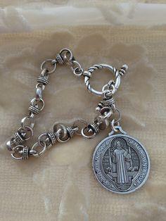 St. Benedict Medal Bracelet