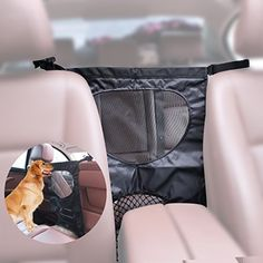EFORCAR Car Pet Barrier, Car Back Seat Dog Barrier Durable Mesh Isolation Gate Protector Fit for Pets Protection Adjustable Divider to Keep Driver Travel Safety. For product info go to:  https://www.caraccessoriesonlinemarket.com/eforcar-car-pet-barrier-car-back-seat-dog-barrier-durable-mesh-isolation-gate-protector-fit-for-pets-protection-adjustable-divider-to-keep-driver-travel-safety/