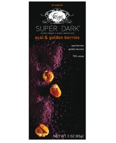 Acai and golden berries punctuate the rich chocolate with an invigorating, tart essence while offering a remarkable concentration of antioxidants, healthy fats, amino acids, and dietary fiber. Wellness has never tasted so indulgent.