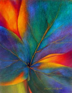 Clover Leaf by Jacqueline Chartrand Cauden Alcohol Ink Painting, Alcohol Ink Art, Arte Peculiar, Pastel Art, Leaf Art, Painting Techniques, Painting Inspiration, Flower Art, Watercolor Paintings