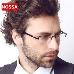 >> Click to Buy << NOSSA Brand Designer High Quality UV 400 Glasses Men's Memory Titanium Wire Goggles Prescription Glasses Frames Eyeglasses Frame #Affiliate