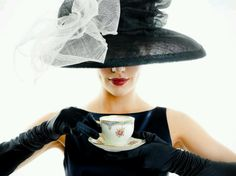 Hat the ladies who lunch oops..tea!