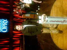 Me on the Grand Ole Opry Stage in 2012