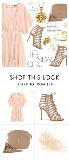 """""""The New Chic"""" by totwoo ❤ liked on Polyvore featuring Gianvito Rossi, Yves Saint Laurent and Eve Lom"""