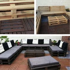 we are sure that your will find these 15 DIY outdoor pallet sofa ideas affordable and highly luxurious. Pallet wood has been reclaimed for the required furniture