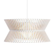 SECTO DESIGN - KONTRO - Suspension bouleau blanc