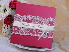 Invitación de boda - PARIS 2 ROJO/BURDEOS