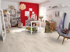 Discover all the information about the product HDF laminate flooring / click-fit / wood look / residential CORTINA OAK WHITE - EGGER and find where you can buy it. Decor, Furniture, Interior, Home, Laminate Flooring, Flooring, Oak, Interior Design, Studio Decor