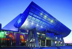 The Lowry, Salford Quays - home to entertainment and the arts http://www.visitmanchester.com/articles/attractions/the-lowry.aspx
