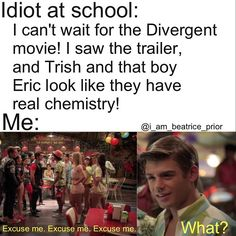Okay this is so funny! PS- IS THE DIVERGENT TRAILER OUT?! SOME ONE SEND ME A LINK @Hannah Wareham