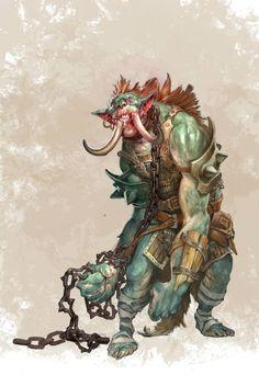 Troll - Pathfinder PFRPG DND D&D d20 fantasy