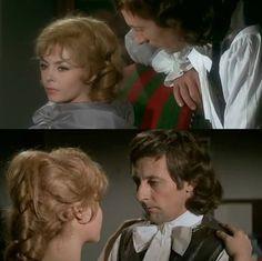 Desgres et Angélique Jean Rochefort et Michèle Mercier dans «Merveilleuse Angélique».
