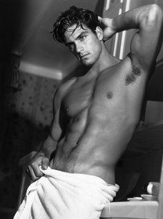 So sexy 🎥 Black Men, Black And White, White Boys, Photo Print, Photo Vintage, Le Male, Male Man, Hommes Sexy, Naha