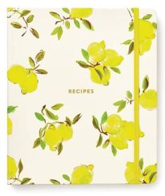 Kate Spade New York Lemon Recipe Book #ad