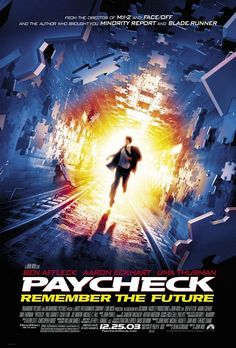 Directed by John Woo. With Ben Affleck, Aaron Eckhart, Uma Thurman, Michael C. What seemed like a breezy idea for an engineer to net him millions of dollars, leaves him on the run for his life and piecing together why he's being chased. Science Movies, Sci Fi Movies, Top Movies, Action Movies, Great Movies, Movies Free, Watch Movies, Science Fiction, Jason Bourne