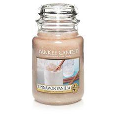 Cinnamon and Vanilla Large Jar