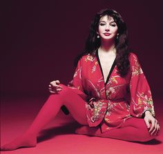 Beautiful Kate Bush in red stockings my favourite ever ❤️ Red Tights, Opaque Tights, Wool Tights, Divas, Figured You Out, Bush, Album Cover, Female Singers, Her Music