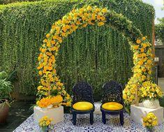 Wedding Backdrop Design, Wedding Stage Design, Desi Wedding Decor, Outdoor Wedding Decorations, Backdrop Decorations, Backdrops, Stage Decoration Photos, Indian Wedding Stage, Backdrop Ideas