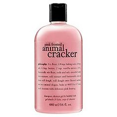 Philosophy Pink Frosted Animal Cracker Shampoo, « Holiday Adds