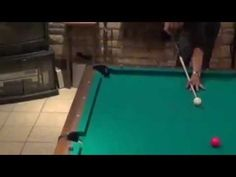 How to Shoot a Powerful Draw Shot (Pool Lessons)   Re-Pinned by your friends at www.thailandpooltables.com