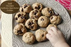 Vegan Spelt Chocolate Chip Cookies {Secret Recipe Club} - Authentic Simplicity
