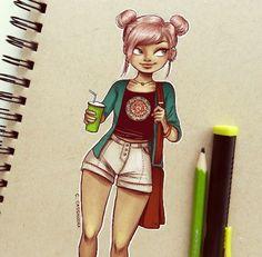 Character Design ~ By Cassandracalin.com @Instagram