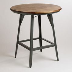 One of my favorite discoveries at WorldMarket.com: Hudson Pub Table | Game Room