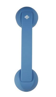 Retro Bluetooth Phone Handset Blue Cordless Telephone Cellphone Accessories Gift #RetroBluetoothPhoneHandset