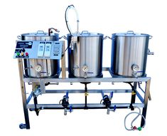 Single Tier, Stainless Steel Homebrewing Stand