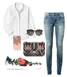 Designer Clothes, Shoes & Bags for Women Lacoste, Rebecca Minkoff, Yves Saint Laurent, Valentino, Gucci, Shoe Bag, Polyvore, Stuff To Buy, Shopping
