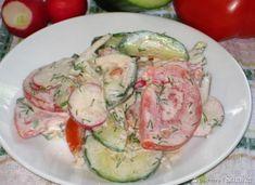 Sałatka do gillowanych mięs i kiełbasek. Potato Salad, Zucchini, Grilling, Potatoes, Chicken, Meat, Vegetables, Ethnic Recipes, Food