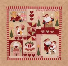 This Christmas quilt is to die for.