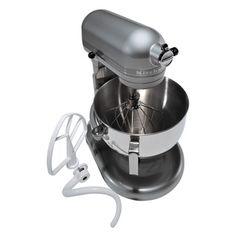 KitchenAid RKV25G0XMC Metallic Chrome Professional 5 Plus Bowl Lift Mixer (Refurbished)