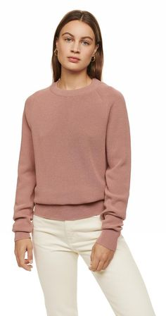 Woman Sweatshirt Long Zero Waste Sweatshirt Patterned Sweatshirt Lyocell amd Hemp Textured Sweatshirt