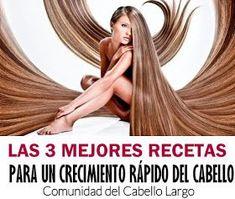 Comunidad del cabello largo: Las Mejores 3 Recetas Caseras para un Crecimiento rapido del Cabello Hair Dos, My Hair, Beauty Care, Hair Beauty, Natural Health Remedies, Bride Look, Lose Belly Fat, Hair Hacks, Cool Hairstyles