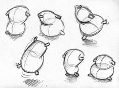 Animation Reference, Drawing Reference, Pencil Art Drawings, Cartoon Drawings, Character Drawing, Character Design, Pillow Drawing, Disney Concept Art, Animation Tutorial
