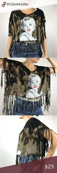 Rockabilly t-shirt Femmes Marilyn respect Hollywood pinup Gun tatouage