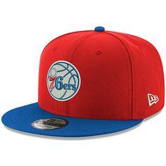 4fe0be995e1ea Men s Philadelphia 76ers New Era Red Royal Unite 9FIFTY Snapback Adjustable  Hat