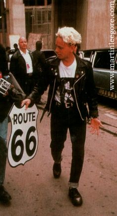 """""""Get your kicks, on Route 66""""."""
