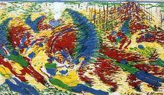 The City Rises - Umberto Boccioni Gino Severini, Umberto Boccioni, Italian Futurism, Rise Art, Popular Paintings, Italian Painters, Oil Painters, Art Database, Art Uk