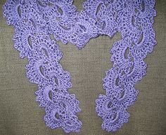 Queen Anne's Lace Crochet Scarf Tutorial by Mrs. Micawber (Sue)  blog has more nice tutorials