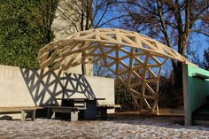 Geodesic Dome Greenhouse, Geodesic Dome Homes, Bubble House, Pergola, Cool Shapes, Dome House, Building Systems, Pavilion, Oregon
