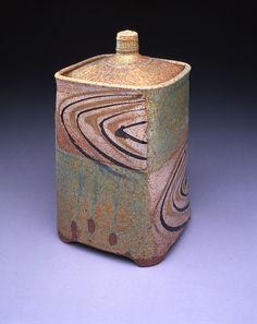 McKenzie Smith - Square Jar (Stoneware)