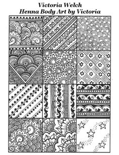 Henna fills, from traditional to modern - victoria welch Finger Henna Designs, Modern Mehndi Designs, Bridal Henna Designs, Mehndi Designs For Girls, Mehndi Designs For Beginners, Henna Designs Easy, Mehndi Designs For Fingers, Elegant Designs, Henna Doodle